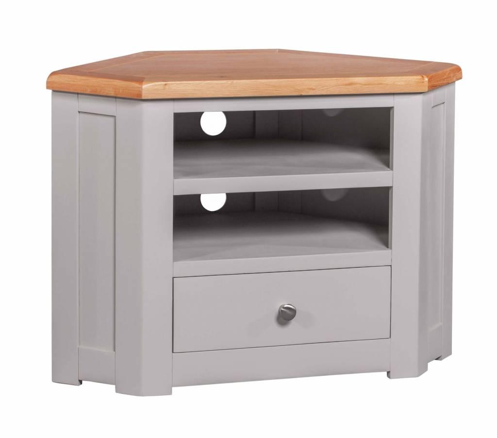 HomestyleGB Diamond Painted Corner TV Cabinet