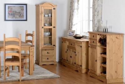 Corona Single Display Cabinet