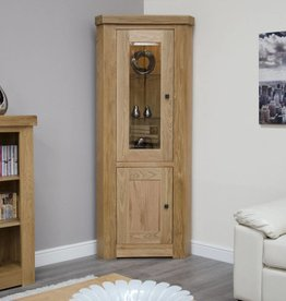 HomestyleGB Bordeaux Solid Oak Corner Unit