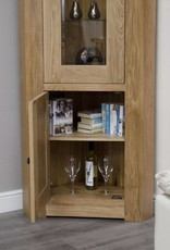 Bordeaux Solid Oak Corner Unit