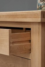 Bordeaux Solid Oak Bookcase