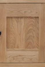 HomestyleGB Bordeaux Solid Oak Bookcase