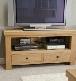 Bordeaux Solid Oak TV/Plasma Unit