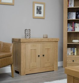 Bordeaux Solid Oak Occasional Cupboard