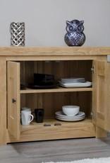 HomestyleGB Bordeaux Solid Oak Occasional Cupboard