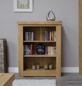 Bordeaux Solid Oak Small Bookcase