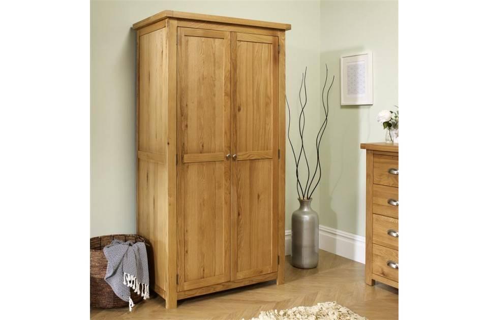 Woburn Oak 2 Door Wardrobe