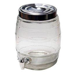 Glass Barrel Beer Dispenser 8L