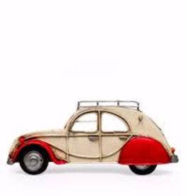 Antiqued French Car Fridge Magnet