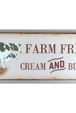Farm Fresh Tin Plaque