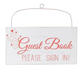 """""""Guest Book """" Sign"""