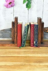 Retro Industrial Saw Bookends