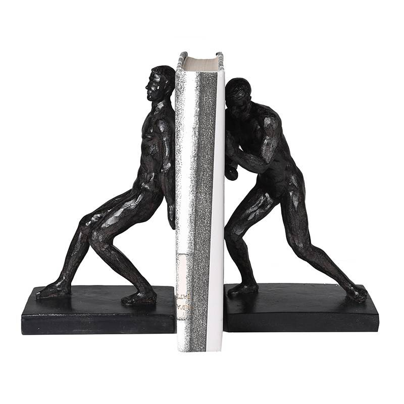 Push and Pull Men Bookends
