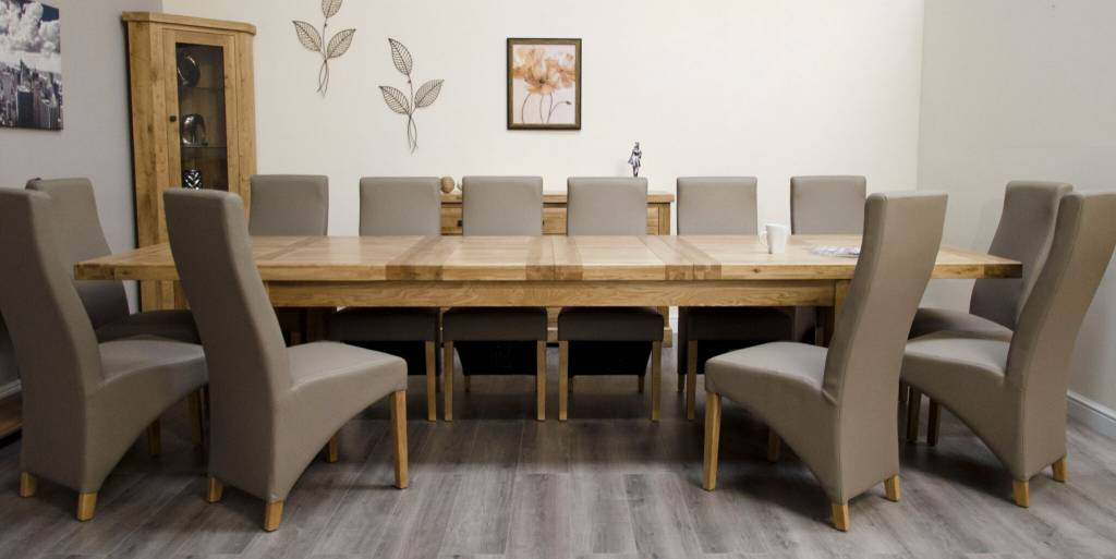 HomestyleGB Deluxe Twin Leaf Extending Table 240+(2×50)
