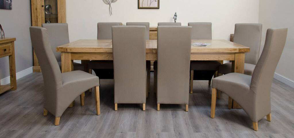 Deluxe Twin Leaf Extending Table 240+(2×50)