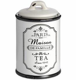 Paris Maison Tea Canister