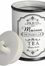 Hill Interiors Paris Maison Tea Canister