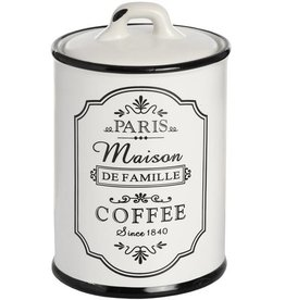 Paris Maison Coffee Canister