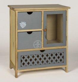 Leaf Grey Cabinet