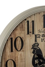 Farmer's Market Wall Clock