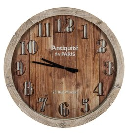 Antiquite Wooden Wall Clock