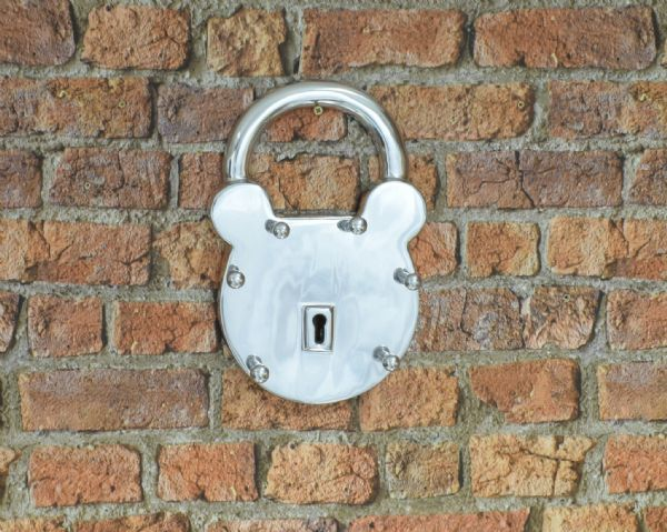 Aluminium Padlock Key Holder