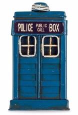 Antiqued Police Box Fridge Magnet