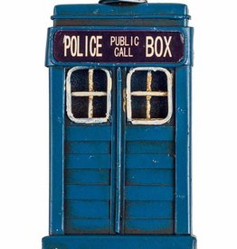 Antiqued Police Box Fridge Magnet