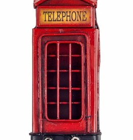 Antiqued Phone Box Fridge Magnet