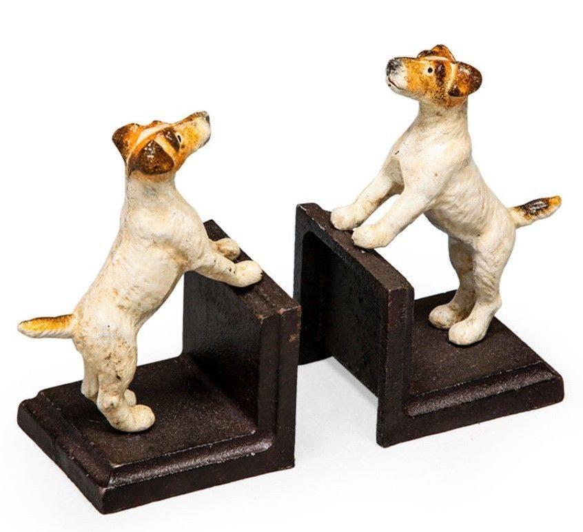 Terrier Bookends