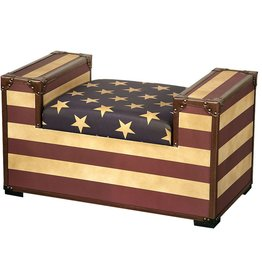 Stars and Stripes Bench