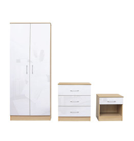 LPD Dakota Bedroom Set - White
