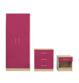 LPD Dakota Bedroom Set - Pink