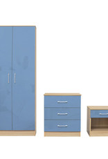 LPD Dakota Bedroom Set - Blue