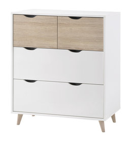LPD Stockholm 2+2 Drawer Chest