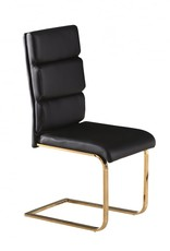LPD Black and Gold Dining Chair
