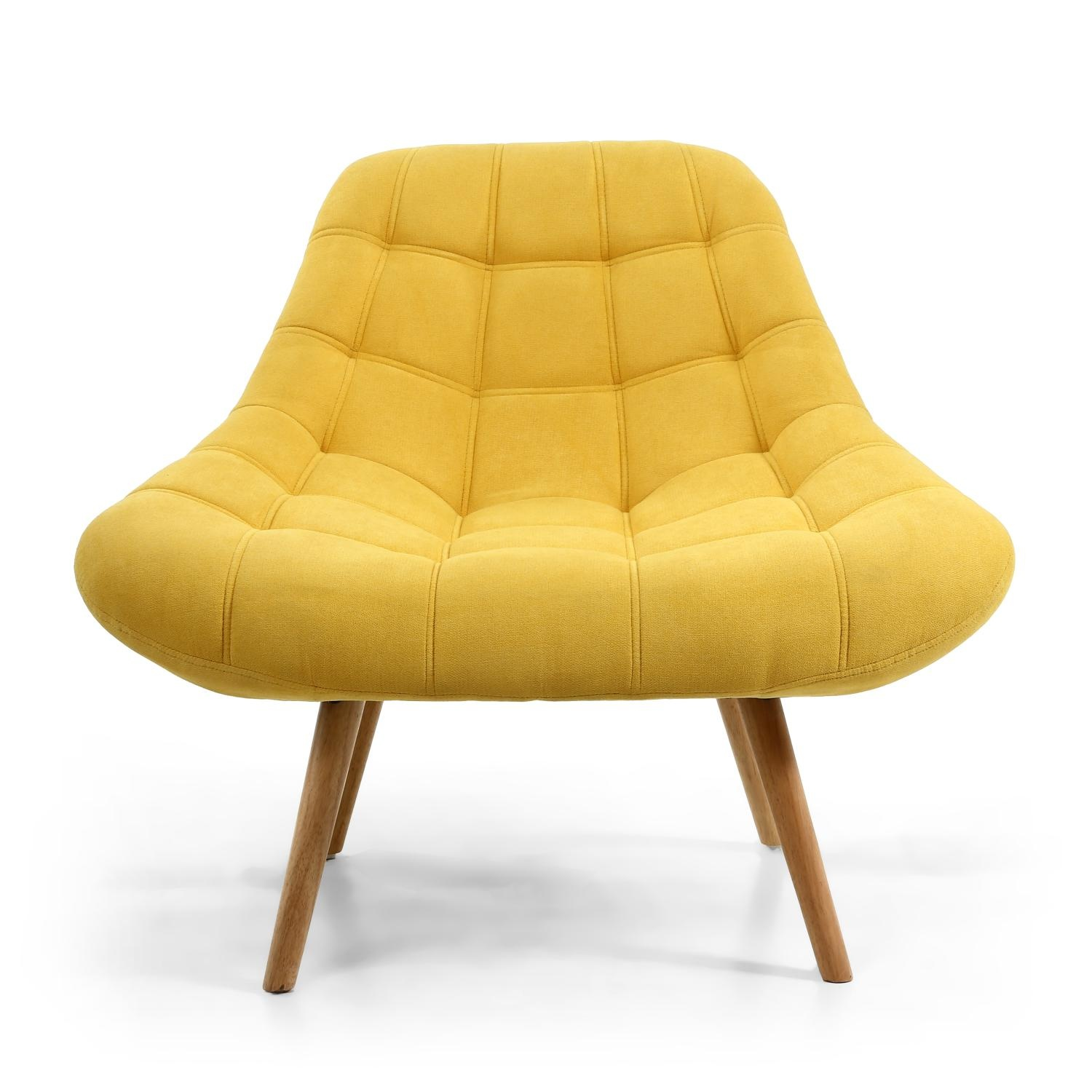 Occasional Chair - Yellow