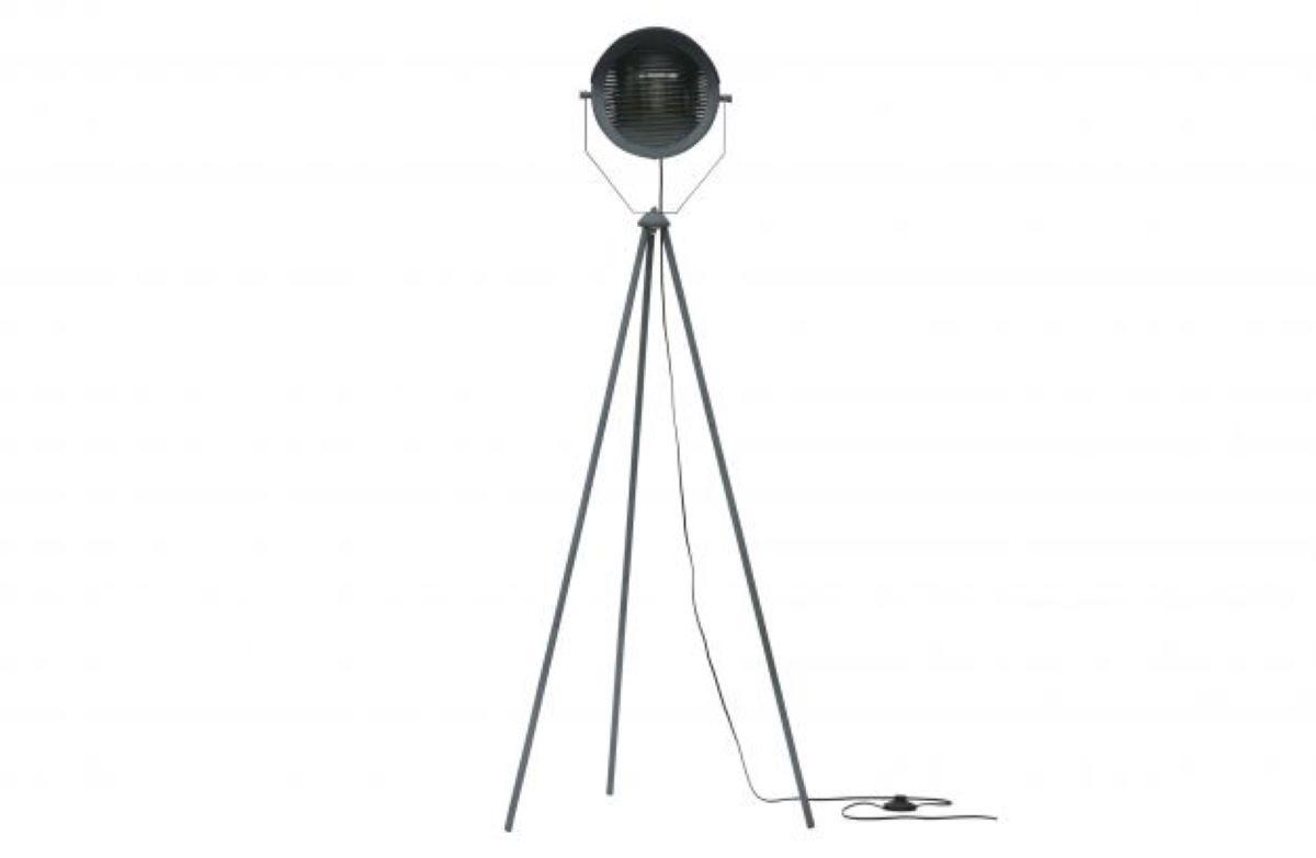 WOOOD Lester Floor Lamp Metal Concrete Grey