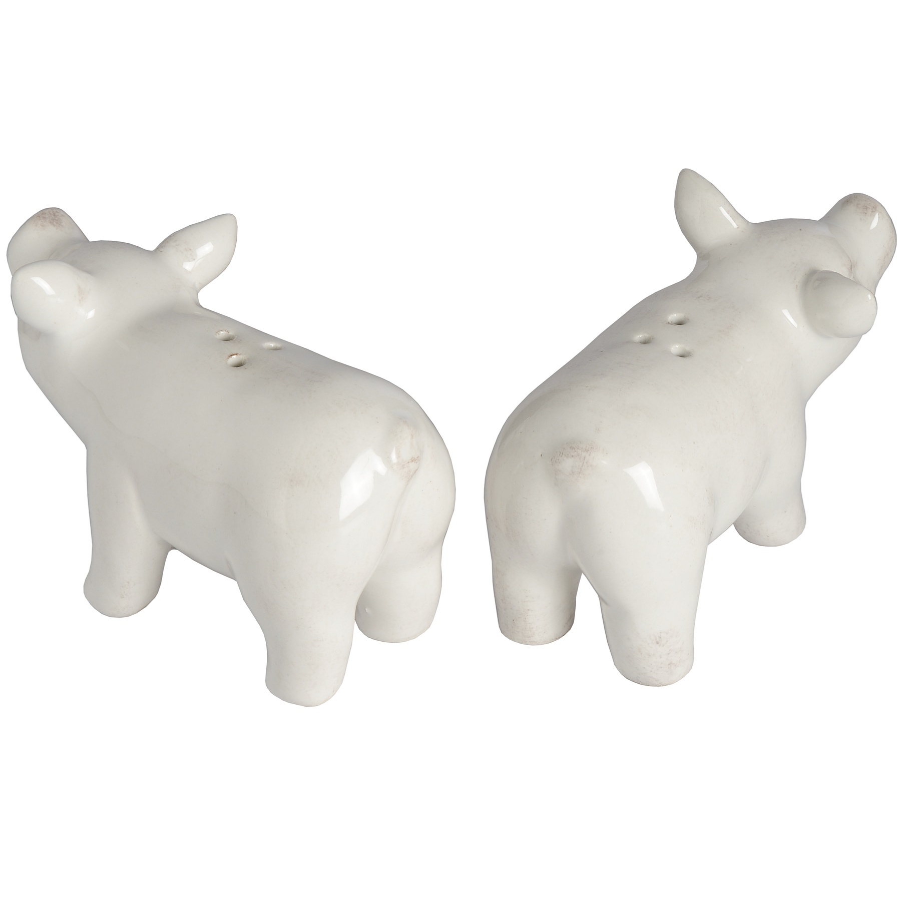 Set of Two Salt and Pepper Pigs