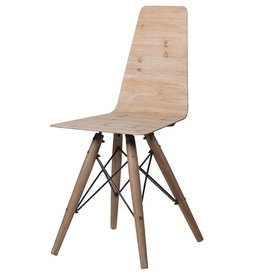 Laminate Seat Dining Chair- Set of 4