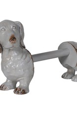 Dog Kitchen Roll Holder