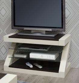 Painted Z Oak TV Cabinet