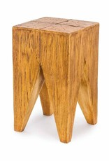 Wood Effect Stool/Side Table