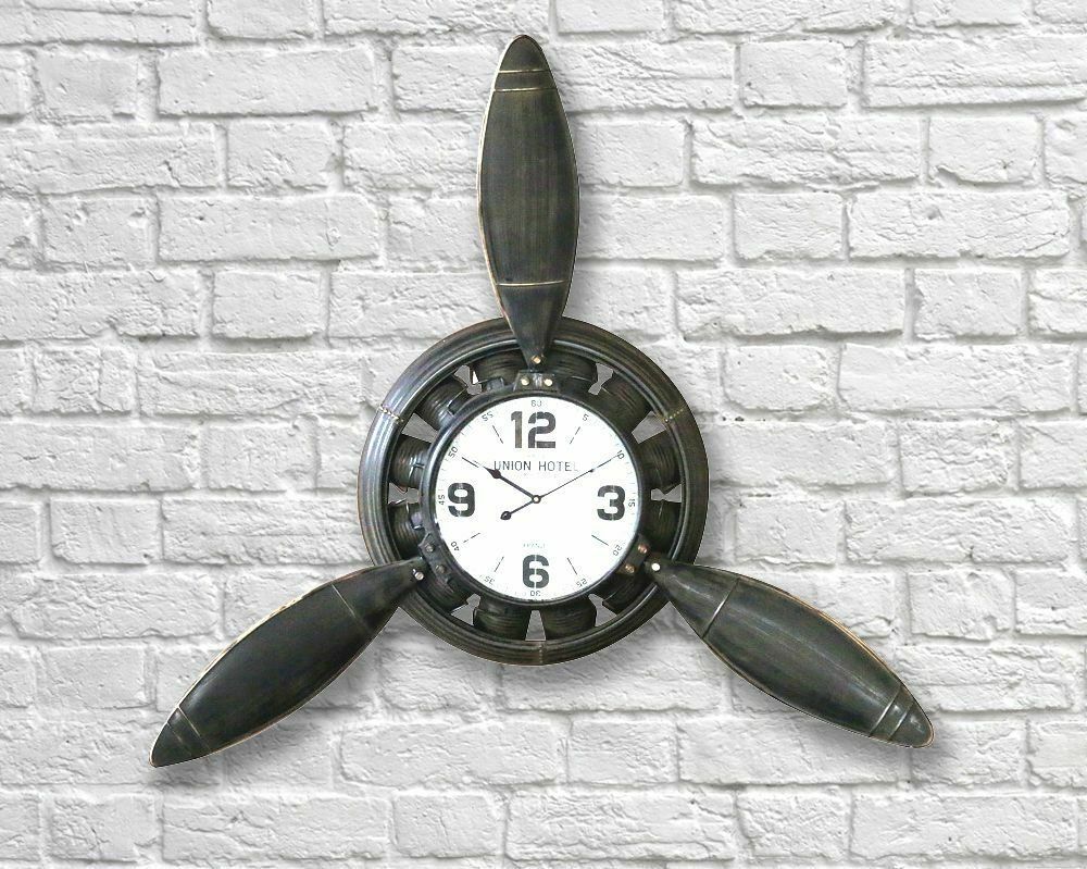 Industrial Propeller Clock - 108 cm