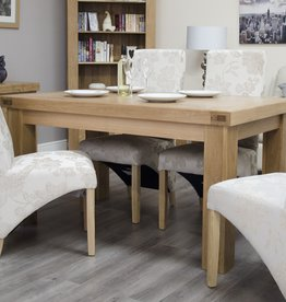Bordeaux Solid Oak Dining Table - 5' x 3'