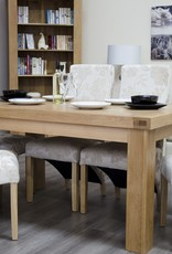 HomestyleGB Bordeaux Solid Oak Dining Table - 5' x 3'