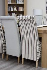 HomestyleGB Bordeaux Solid Oak Dining Table - 6' x 3'