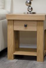 Bordeaux Solid Oak Lamp Table