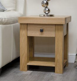 Bordeaux Solid Oak Lamp Table