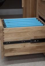 HomestyleGB Opus Oak 3 x File Cabinet
